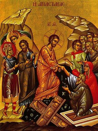 Resurrection Icon Copyright Theologic Systems