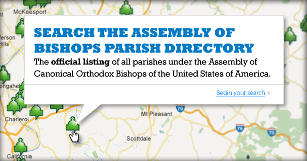 Find an Orthodox Parish